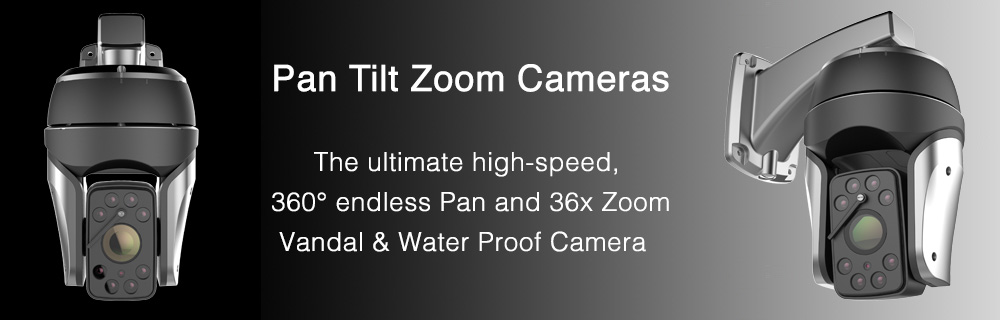 uhd pan tilt zoom security cameras