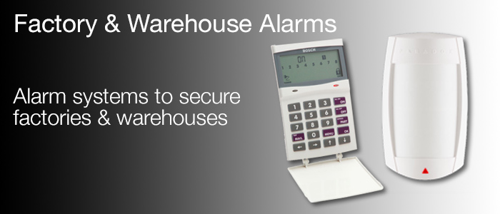 factory alarms warehouse alarms